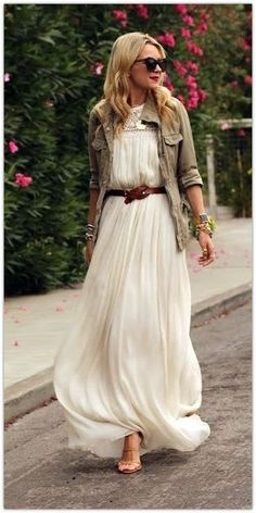 Love the soft maxi and more rugged cargo over.