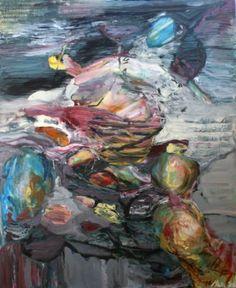 "Saatchi Art Artist Maia S Oprea; Painting, ""TRANS / FIGURATION"" #art Figure Painting, Figurative, Saatchi Art, Original Paintings, Canvas, Artist, Tela, Toile, Amen"