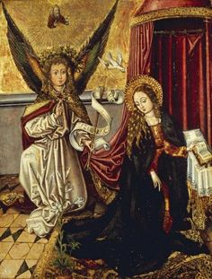 Martin Schongauer - The Annunciation - Fine Art Print