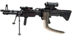 M60E4 Light Machine Gun used by the Navy Seals. Well... The whole ...
