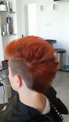 Wykonanie: Edyta #hair #haircut #mohawk #hairstyle #short #shorthair #hairdresser #włosy #wlosy #fryzury #krótkie #krotkiewlosy #poland #polska #lublin #fryzjerlublin