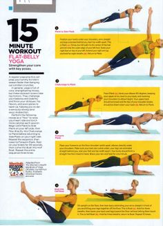 15 Minute Workout: Flat-Belly Yoga