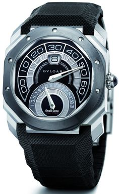 Bvlgari Octo Bi-Retro Black Ceramic***