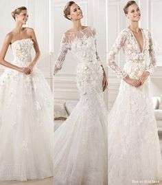 Elie Saab.  The wedding dress in the middle definitely my favourite in the collection.