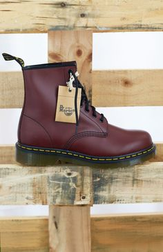 Dr. Martens 1460 Boot Cherry Red Smooth | Beginning Boutique