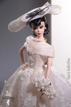 Bianca, OOAK fashion and repaint doll by Creations COTHO Photos by MadKen
