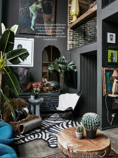 Eclectic interior design ideas tips for eclectic style eclectic home decor. Modern Interior Design, Interior Design Inspiration, Contemporary Interior, Bohemian Interior, Scandinavian Interior, Interior Ideas, Modern Art, Interior Room, Style Deco