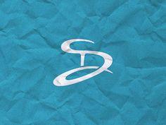 Personal Logo Ideas: Dalius Stuoka I like the letter inside the letter idea. Also, that font face. Personal logo inspirations, personal branding ideas