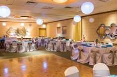 Great contemporary decor in the Gainey Ballroom!