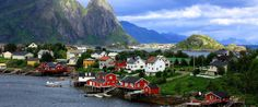 This Quaint Fishing Village Will Make You Want To Run Off To Norway