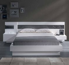 A comfy place doesn´t have to be boring! You can have a stylish bed and still sleep like an angel! Wardrobe Design Bedroom, Bedroom Cupboard Designs, Bedroom Bed Design, Bedroom Furniture Design, Bed Furniture, Home Bedroom, Simple Bed Designs, Double Bed Designs, Stylish Beds