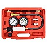 faersi Cylinder Leak Detector  Engine Compression Diagnosis Tester Kit  Cylinder Leakage Pressure Detector Test Set for Piston Ring Valve Head Gasket