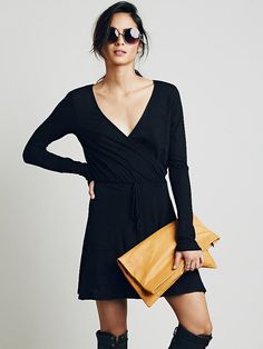 FP Beach Tiny Dancer Wrap Dress at Free People Clothing Boutique