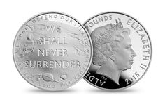#Churchill quote series, island Britain produced for the Royal Mint Uk