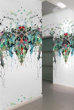 Timorous Beasties Wallcoverings - Kaleido Splatt