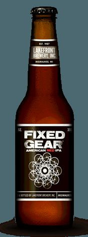 Lakefront Brewing Fixed Gear American red IPA:: the official beer of C-Haus sound techs.