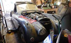Jaguar XK120 - lost during restoration