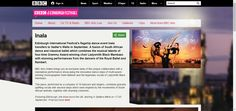 BBC - Edinburgh Festivals 2014 - Inala. A fusion of classical ballet and South African dance.