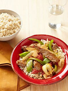 Pepper Steak #myplate #beef #chinese