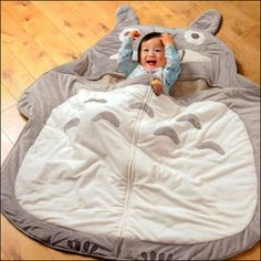 Totoro sleeping bag!