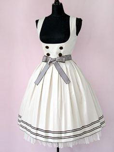Beth Jumper Skirt Sailor Line JSK