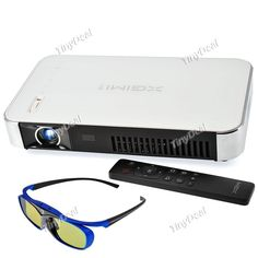 XGIMI WiFi Android OS(4.4) LED Projector DLP 1280 x 800 Headphone AV RJ45 USB SPDIF HDMI VGA TF Projectors OPJ-381361