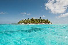 """» Un mar de """"siete colores"""" en el Caribe 101 Lugares increíbles -"""