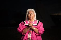 """Indigenous Women Are Standing Strong  Women are leading the way at Standing Rock to protect the waters of North  Dakota, and bringing forth a global indigenous spiritual and ecological  movement, which honors the integral health and respect of the Earth and  people.      """"Sacred Stones Camp was begun by women, as a prayer.""""      - Elders & leaders of Sacred Stones Camp  A group of Lakota Sioux women from the Standing Rock Sioux Tribe, including  LaDonna Bravebull Allard,esta..."""
