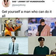 in conclusion get yourself a johnny suh because he can do and slay it all - NCT / WayV - Info Korea Steven Universe, Nct 127 Johnny, Nct Life, Funny Kpop Memes, Channel, K Idol, Taeyong, Kpop Groups, Jaehyun