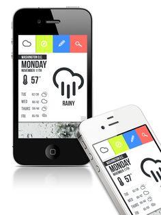 Weather app by John Menard