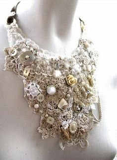 Vintage Lace and Beading