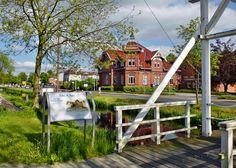 Lower Saxony, Ostfriesland, Rhauderfehn, Typisch ostfriesisch, Feh- und Schiffahrtsmuseum Westrhauderfehn, Fehn-Tour