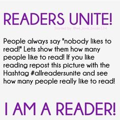 #allreadersunite