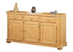 Anrichte im Landhausstil Amberg 3-türig Fichte Rosner Massivholz 20915. Buy now at https://www.moebel-wohnbar.de/anrichte-im-landhausstil-amberg-3-tuerig-fichte-rosner-massivholz-20915.html