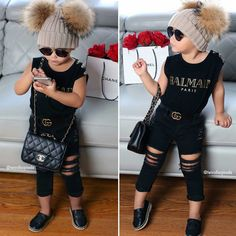Estilosa Toddler Swag, Toddler Boy Fashion, Cute Kids Fashion, Little Boy Fashion, Baby Girl Fashion, Cute Little Girls Outfits, Baby Outfits, Toddler Outfits, Kids Outfits