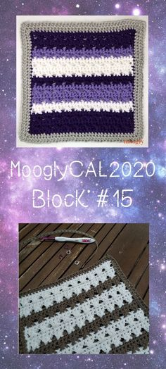 MooglyCAL2020 Block 15 is a lovely striped square from ACCROchet! Perfect for any number of colors this square is a great evening make. Join the free CAL on Moogly!  #crochet #freecrochetpatterns #mooglycal #mooglycal2020 #mooglyblog #crochetalong #crochetsquares