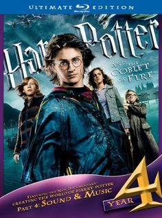 Harry Potter and the Goblet of Fire (Three-Disc Ultimate Edition) [Blu-ray] @ niftywarehouse.com #NiftyWarehouse #HarryPotter #Wizards #Books #Movies #Sorcerer #Wizard