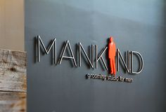 mirror mirror office 3d sign, 3d sign office corporate logo sign & design