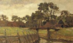 Willem Bastiaan Tholen - De ophaalbrug, Giethoorn
