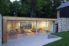 Philip Johnson's Elevated, Exceptional Wiley House Asks $14M - Curbed