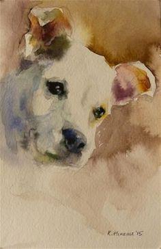 "Daily Paintworks - ""adopt107"" - Original Fine Art for Sale - © Katya Minkina:"