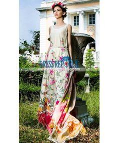 Tabassum Mughal Pakistani Lawn Dresses Summer 2015