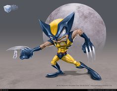 http://aladecuervo.cgsociety.org/art/wolverine-photoshop-marvel-superhero-toon-chibi-humorous-string-mad-fury-muscle-x-men-fight-moon-character-design-fanart-2d-924641