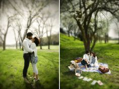Pic-nic Engagement Love Session (this time from the front side)