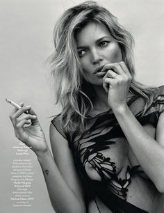 """Kate Moss 14""""x18"""" Poster"""