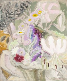 Ivon Hitchens | Still Life | Sold for £79,250
