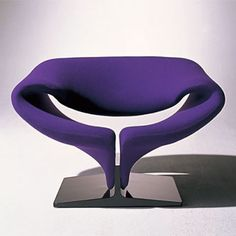 Pierre Paulin , Ribbon Chair by Artifort.  The ultimate chair in the ultimate colour.