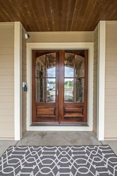 Great Traditional Front Door with exterior stone floors by Hanson Severson Real Estate Group & Traditional Front Door with Pathway exterior stone floors ... pezcame.com