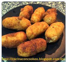 """""""Cocina con Cookeo"""": Croquetas de pollo"""