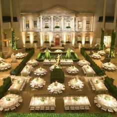 to when I used 400 feet of espalier apple trees to create a winding hedge in the metmuseum s Englehard Court for the Wedding Table Layouts, Wedding Reception Layout, Wedding Seating, Reception Table, Wedding Receptions, Wedding Centerpieces, Wedding Decorations, Table Decorations, Table Arrangements